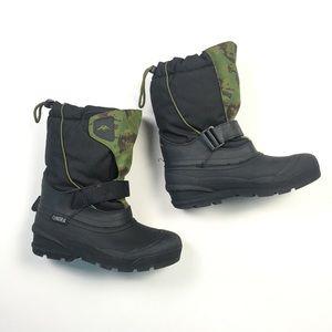 Tundra Quebec Camo Rubber Boots 6 C78